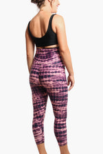 ACTIVE 7/8 LEGGING - PRINTS-PANTS-Cherry Melon