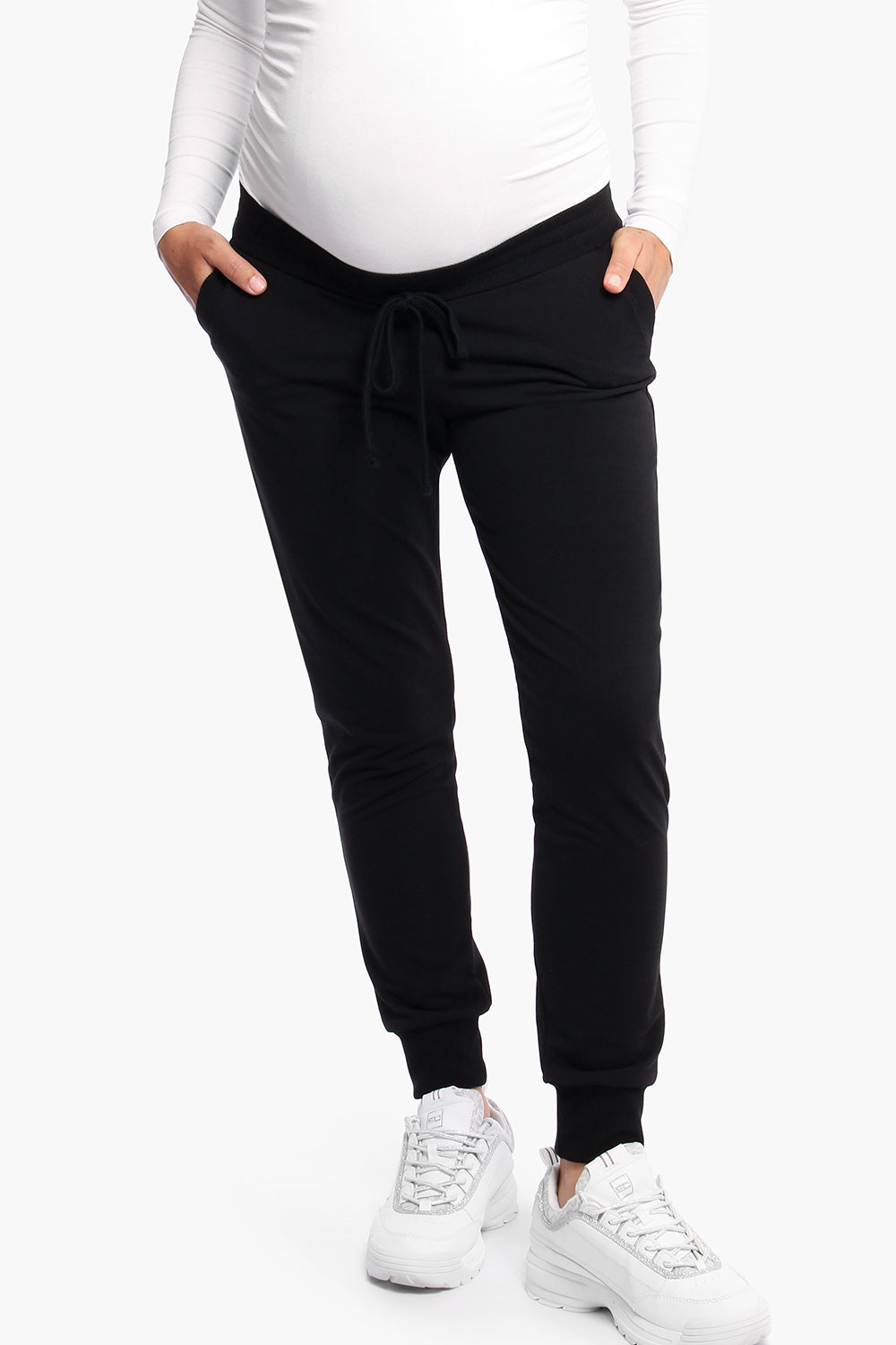 LOUNGEWEAR FLEECE JOGGER-PANTS-Cherry Melon