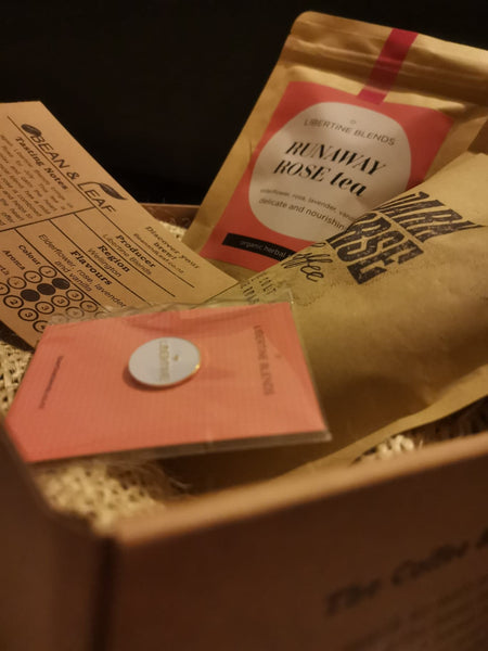 Bean & Leaf NZ, Coffee and Tea subscription and gift box