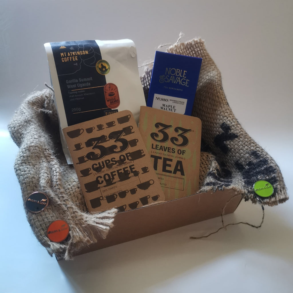 Bean & Leaf NZ's coffee and tea subscription or gift box