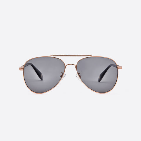MEN & WOMEN SUNGLASSES  LIGHT BROWN GRADIENT