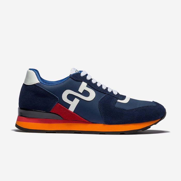 LACE-UP SUEDE SNEAKERS BLUE - Top Sneakers - OPP Official Store (OPP France)