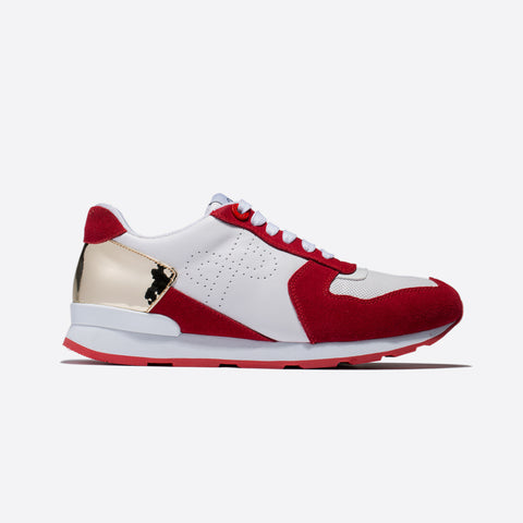 9be7a0de1048 LACE-UP SUEDE SNEAKERS RED - Top Sneakers - OPP Official Store (OPP France
