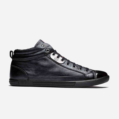 HIGH-TOP METAL SHOES BLACK - Top High-top Shoes - OPP Official Store (OPP France)