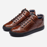 HIGH-TOP SHOES BROWN - Top High-top Shoes - OPP Official Store (OPP France)