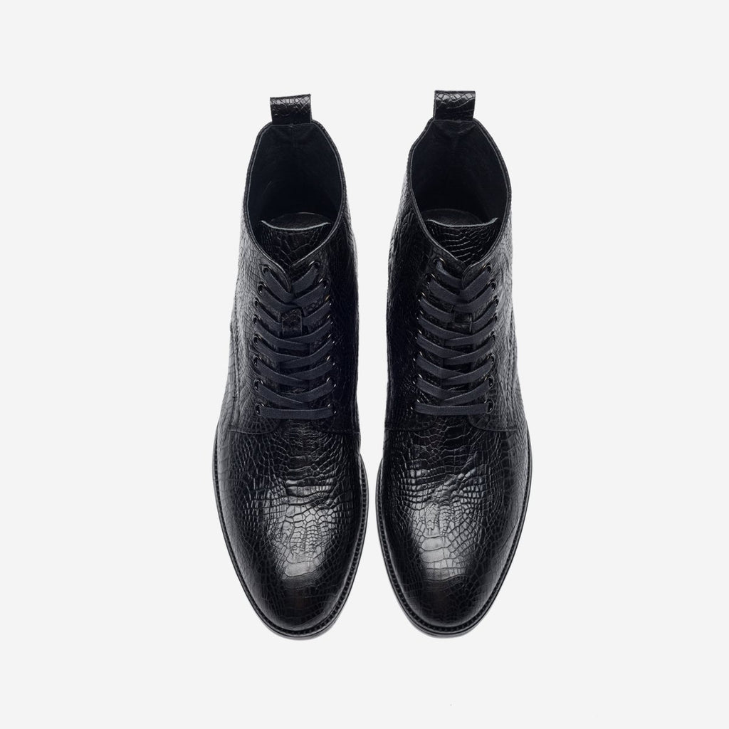 MEN ANKLE BOOTS BLACK