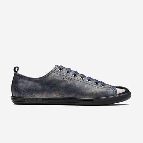 Metal Lace-Up Shoe M-Blue - Top Casual Shoes - OPP Official Store (OPP France)