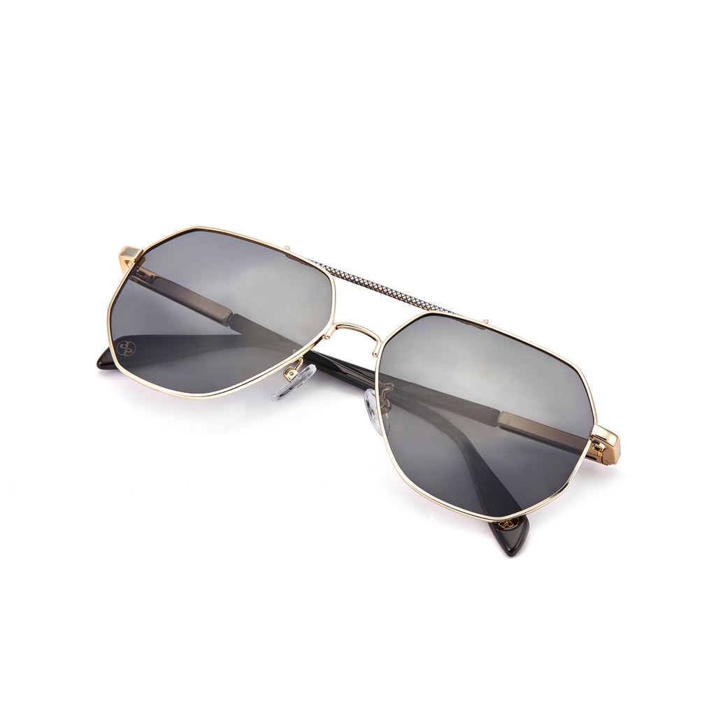 MEN & WOMEN SUNGLASSES Light Grey Gradient