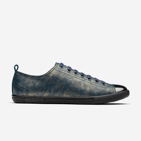 Metal Lace-Up Shoe M-Green - Top Casual Shoes - OPP Official Store (OPP France)