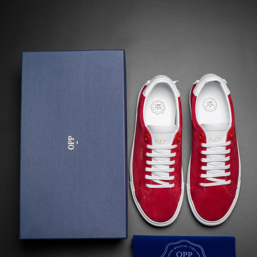 CASUAL SHOES RED - Top Casual Shoes - OPP Official Store (OPP France)