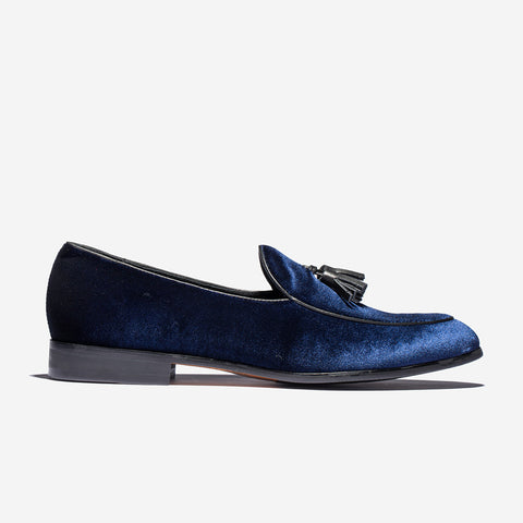 Suede Dress Shoes Blue - Top Dress Shoes - OPP Official Store (OPP France)