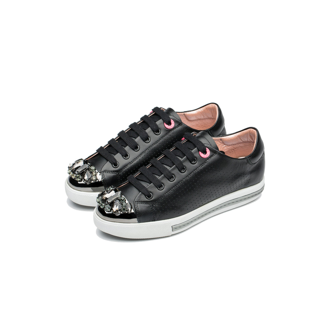 WOMEN CASUAL SHOES BLACK - Top Women Casual - OPP Official Store (OPP France)