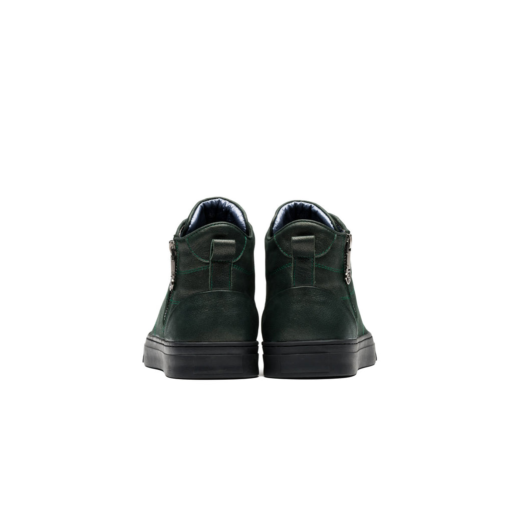 HIGH TOP LACE-UP GREEN - Top High-top Shoes - OPP Official Store (OPP France)