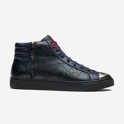 HIGH TOP LACE-UP BLUE - Top High-top Shoes - OPP Official Store (OPP France)