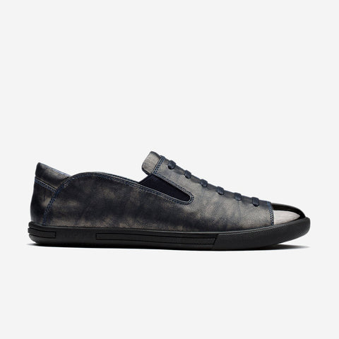 LOAFERS SHOES METALLIC BLUE - Top Loafers Shoes - OPP Official Store (OPP France)