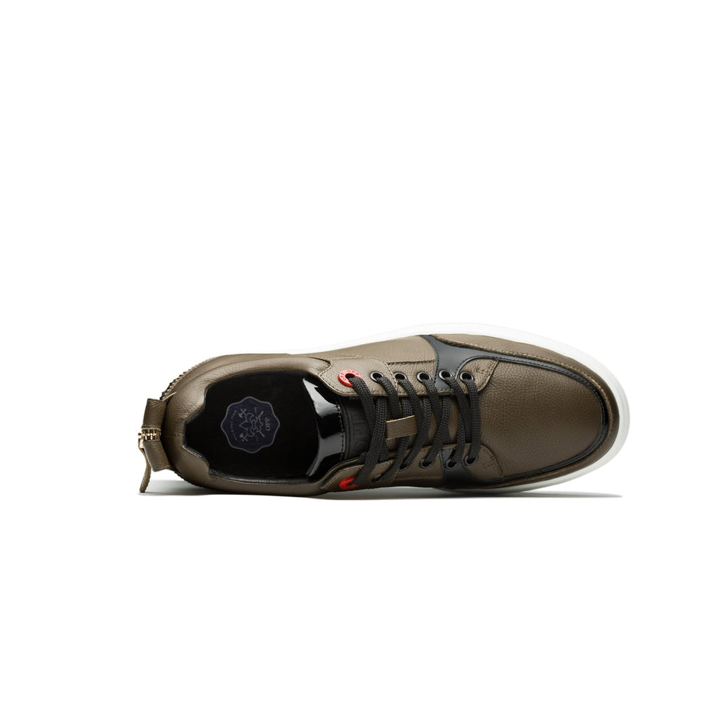 CASUAL LACE-UP SHOES BRONZE - Top Casual Shoes - OPP Official Store (OPP France)