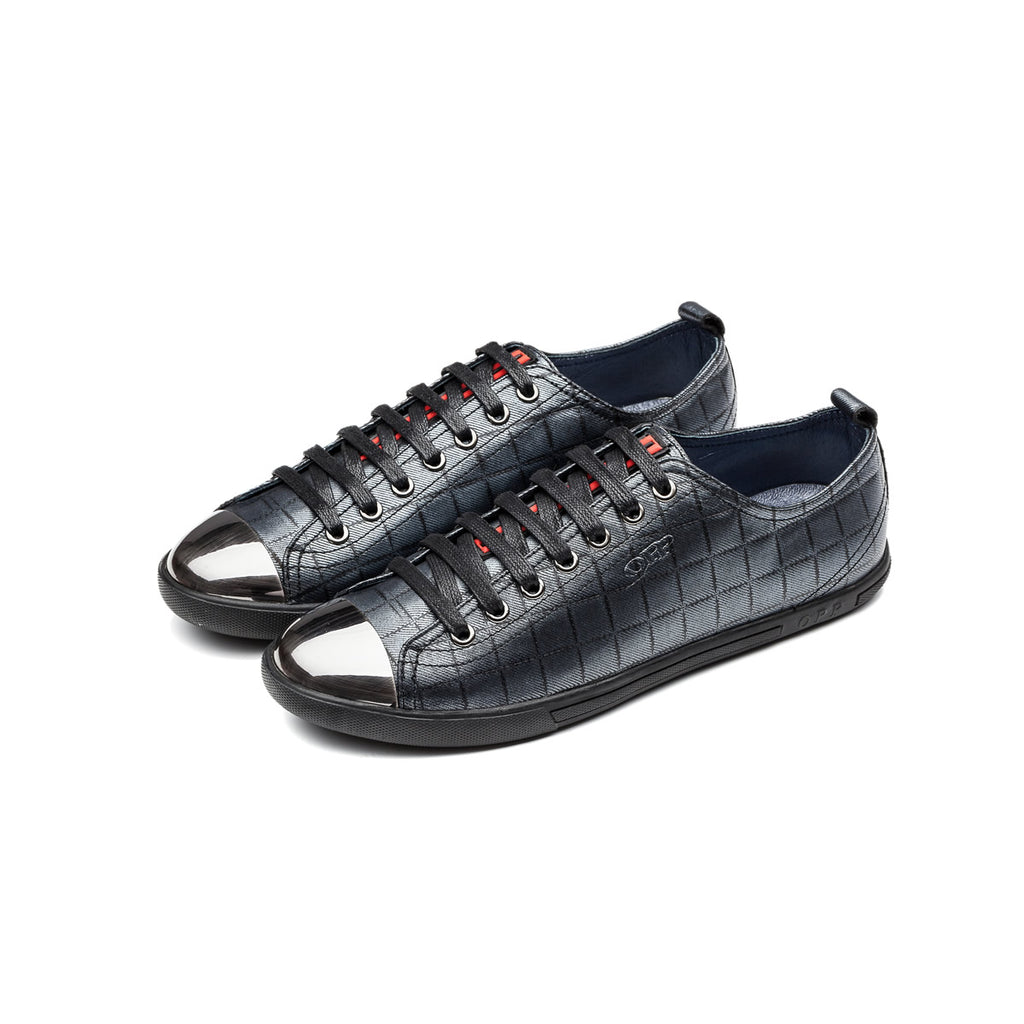 CASUAL LACE-UP SHOES GREY - Top Casual Shoes - OPP Official Store (OPP France)