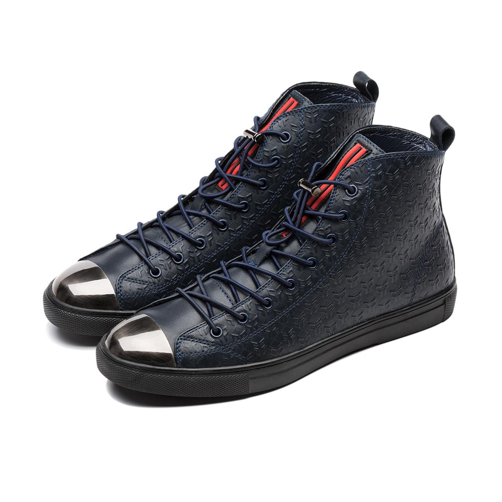 METAL HIGH-TOP SHOES BLUE - Top High-top Shoes - OPP Official Store (OPP France)