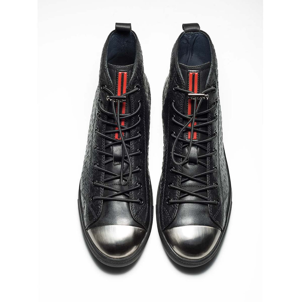 METAL HIGH-TOP SHOES BLACK - Top High-top Shoes - OPP Official Store (OPP France)