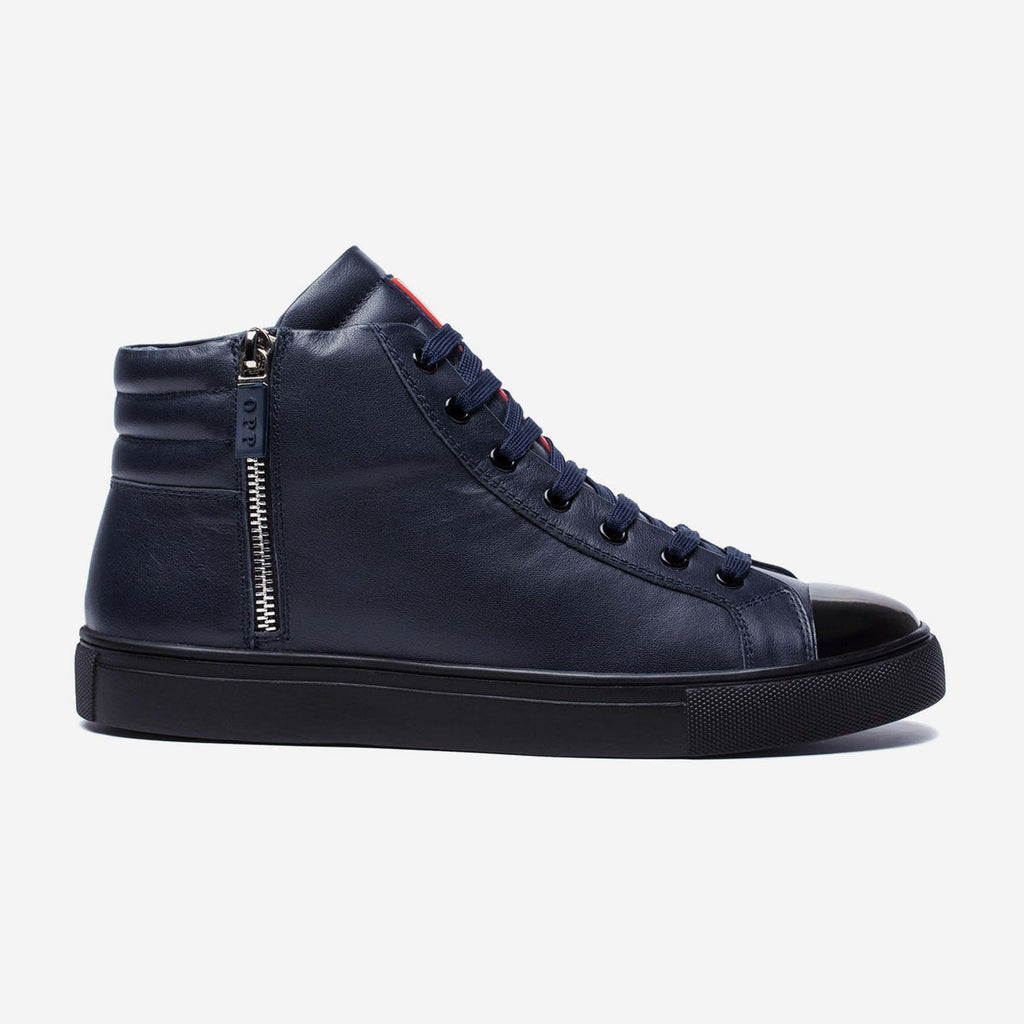 HIGH-TOP ZIP SHOES BLUE - Top High-top Shoes - OPP Official Store (OPP France)