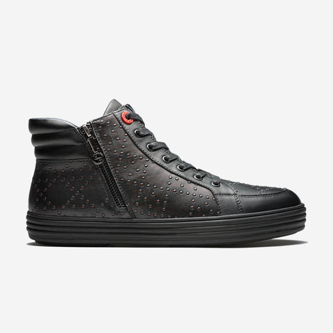 Zip High-Top Shoes Black - Top High-top Shoes - OPP Official Store (OPP France)