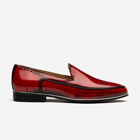 Patent Leather Dress Shoes Wine - Top Dress Shoes - OPP Official Store (OPP France)