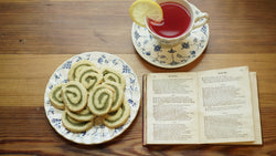 Tea, cookies and poems