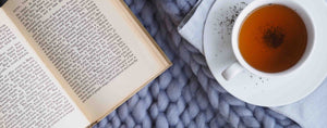 Reading with a cup of tea