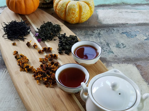 Black Tea Brewing