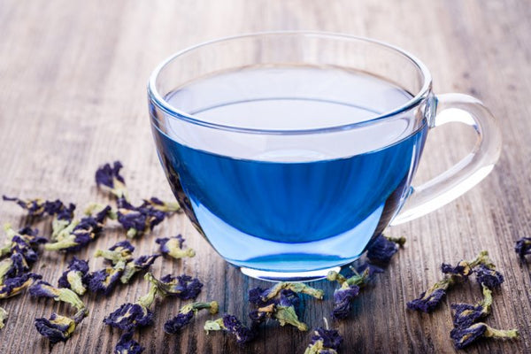 Butterfly Pea Flower Tea with Blossoms_Courtesy BP Guide