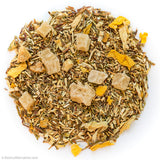 Candied Pineapple Ginger Green Rooibos loose leaf tea