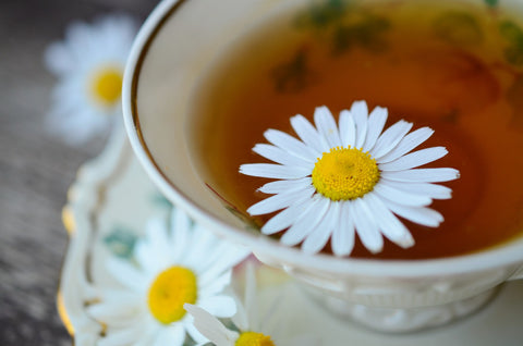 Chamomile tea for relaxation