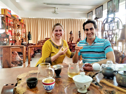 Elizabeth & Vientiene Taeed in Laos - Matcha Alternatives