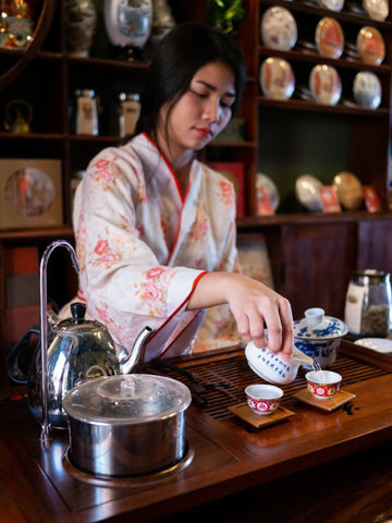 Gaiwan Brewing with Fairness Pitcher by Travellingfortea