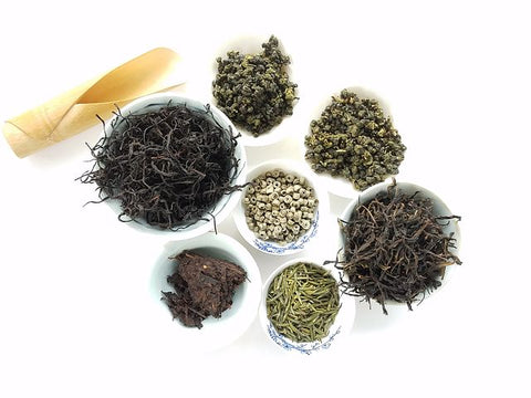 Loose Leaf Green and Black Teas