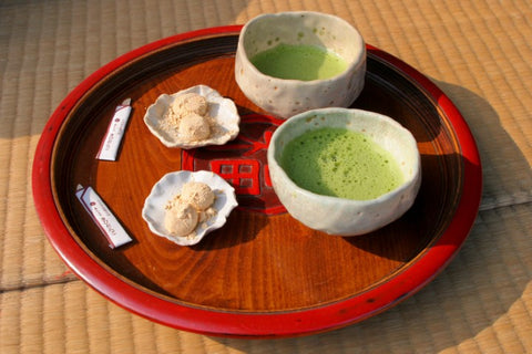 Matcha with Wagashi