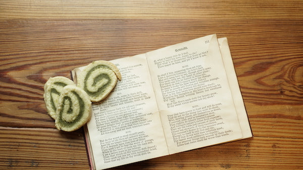 Pinwheel cookies and Shakespeare's Sonnets