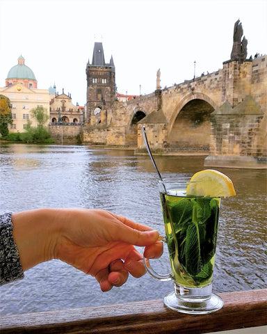 Prague Mint Tea on a Boat - Matcha Alternatives