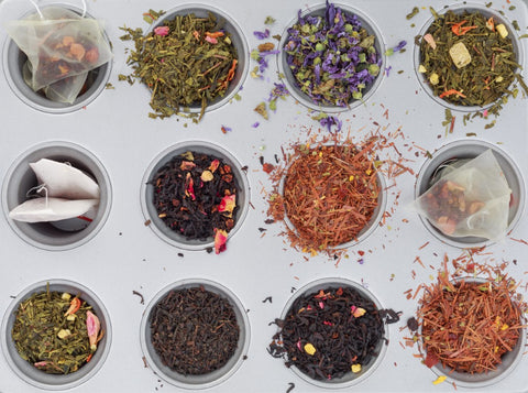 Range of Loose Leaf Tea Types