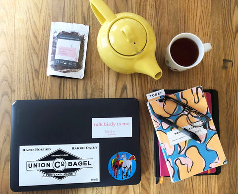 Remote Working 5 Tips and Teas