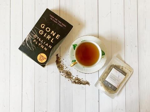 Gone Girl paired with Roasted Ginger Chai Yerba Mate