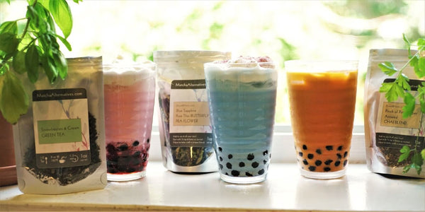 Different Types of Boba Tea