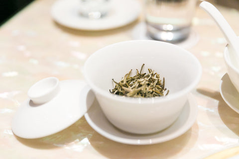 White Tea Gaiwan Brewing