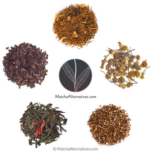 2019 Bestsellers (5 Popular Teas Bundle) - Matcha Alternatives