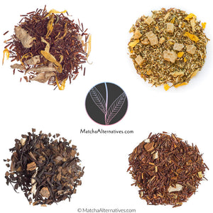 Chai Ginger Quartet (4 Gingery Teas Bundle) - Matcha Alternatives