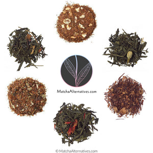 Fruitilicious Six (6 Fruity Rooibos & Green Teas Bundle) - Matcha Alternatives
