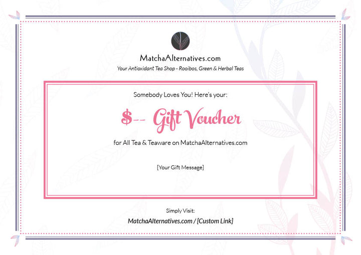 MatchaAlternatives eGift Voucher