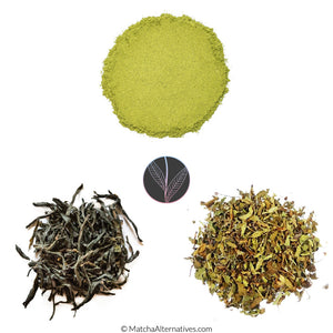 Rare Superfood Tea Trio Moringa Purple Tea Tulsi