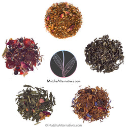 Relaxing Floral Quintet (5 Petalicious Teas Bundle) - Matcha Alternatives
