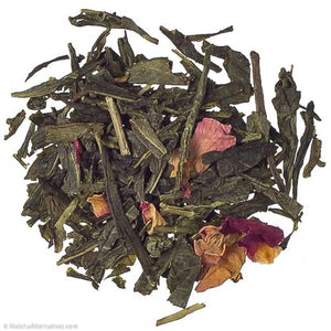 Richly Rose Cherry Sencha Green Tea Matcha Alternatives